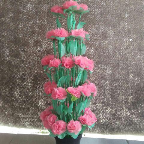 bunga plastik
