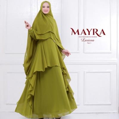 Gamis Syari Larissa By Mayra